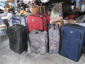 I mean, who really ever needs this many suitcases?