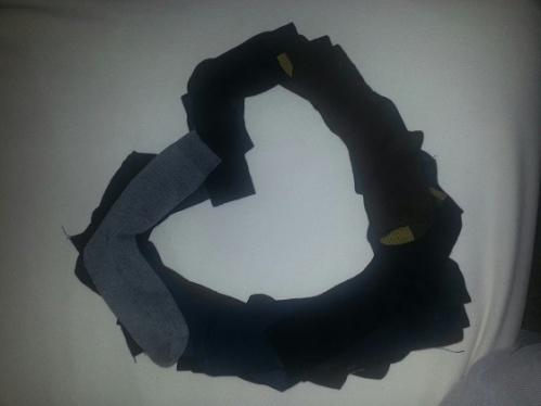 sock heart