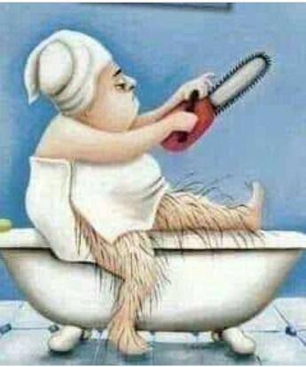 Shaving Pic